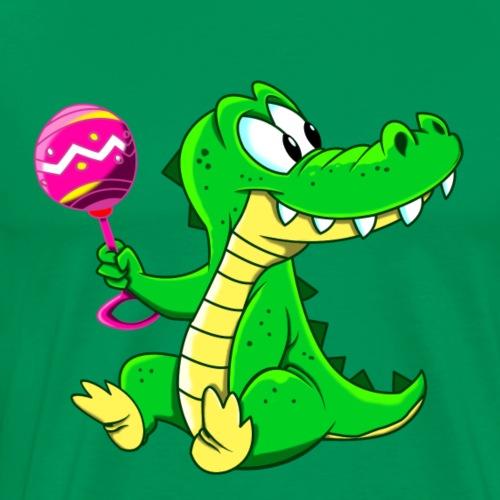 baby gator - Men's Premium T-Shirt