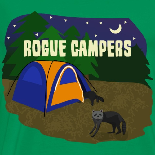 Rogue Campers - Camping/Outdoor Apparel - Men's Premium T-Shirt