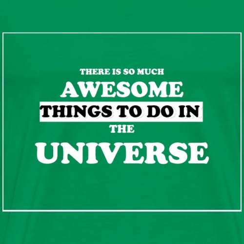 AVESOME UNIVERSE - Men's Premium T-Shirt