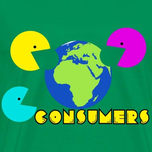 consumers of earth - Men's Premium T-Shirt