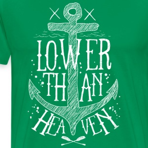 Lower than heaven - Men's Premium T-Shirt