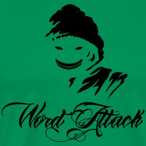 Word Attack - Men's Premium T-Shirt