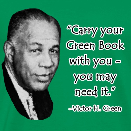 Carry Your Green Book - Men's Premium T-Shirt