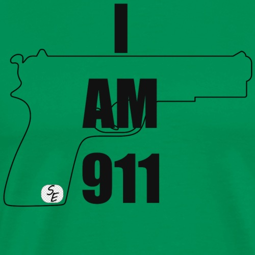 I AM 911 - Men's Premium T-Shirt