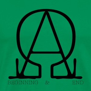 The Beginning and the End - Men's Premium T-Shirt