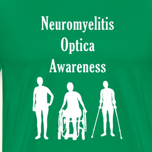 Neuromyelitis Optica Awareness - Men's Premium T-Shirt