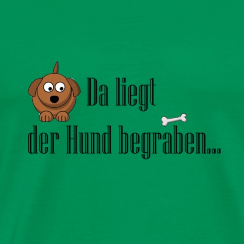 Hund or bone - Men's Premium T-Shirt
