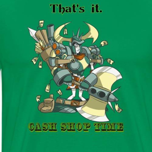 Cash Shop Time! - Men's Premium T-Shirt