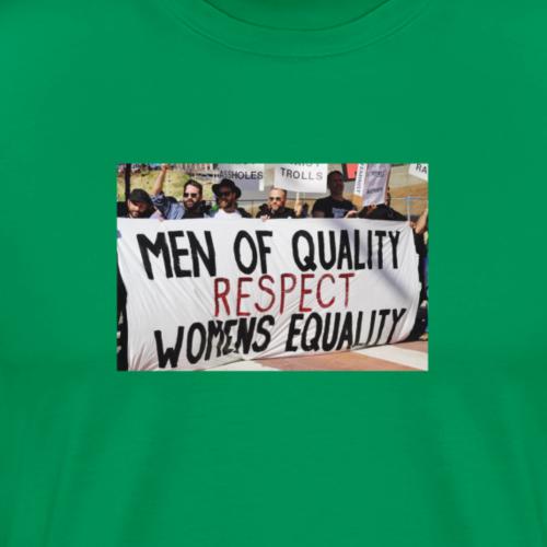 Respect Women - Men's Premium T-Shirt