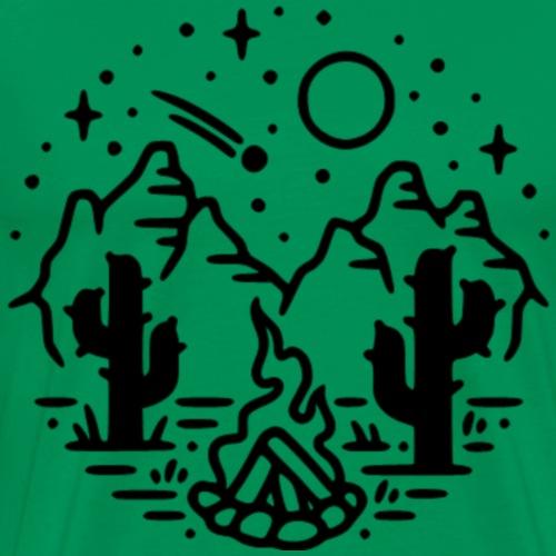 Desert Night - Men's Premium T-Shirt