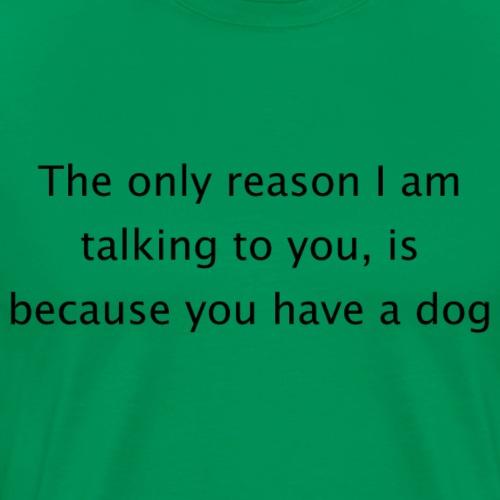 Doglover - black - Men's Premium T-Shirt