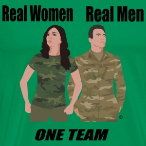 One Team: Army - Men's Premium T-Shirt