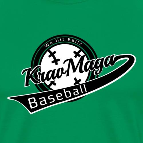 Krav Maga Baseball - We Hit Balls - krav maga gear - Men's Premium T-Shirt