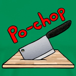 Po-chop Classic Logo 2.5 - Men's Premium T-Shirt