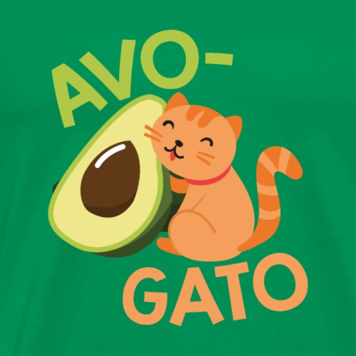 AVOCADO CATS: Avo-Gato - Men's Premium T-Shirt