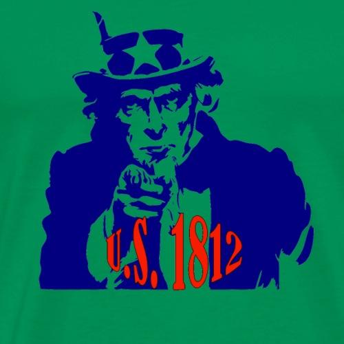 uncle-sam-1812 - Men's Premium T-Shirt