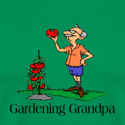 Gardening Grandpa t-shirts and gifts - Men's Premium T-Shirt