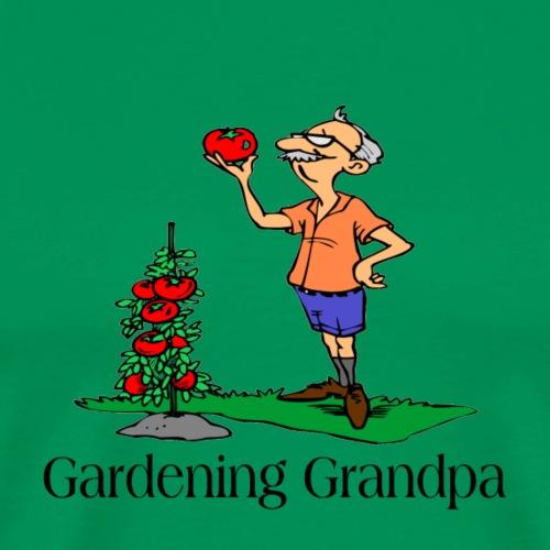 Gardening Grandpa t-shirts and gifts - Men's Premium T-Shirt