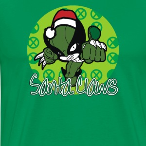 Santa Claws - Men's Premium T-Shirt