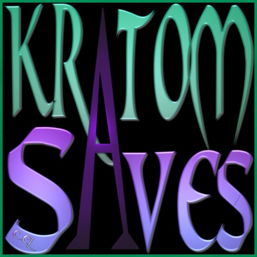 Kratom Saves teal - Men's Premium T-Shirt