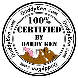 Daddy Ken Certification 3B - Men's Premium T-Shirt