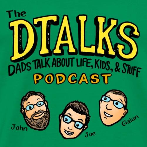 DTALKS Transparent - Men's Premium T-Shirt