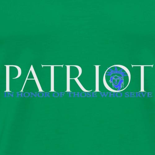 PATRIOT_USA_LOGO_2_reverse - Men's Premium T-Shirt