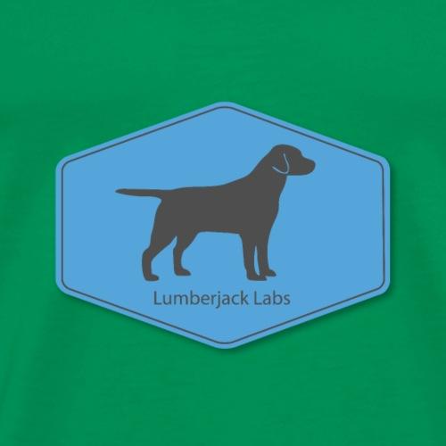 Lumberjack Labs Vintage Logo - Men's Premium T-Shirt