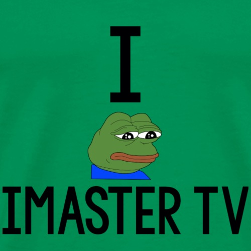 I pepe iMaster TV - Men's Premium T-Shirt