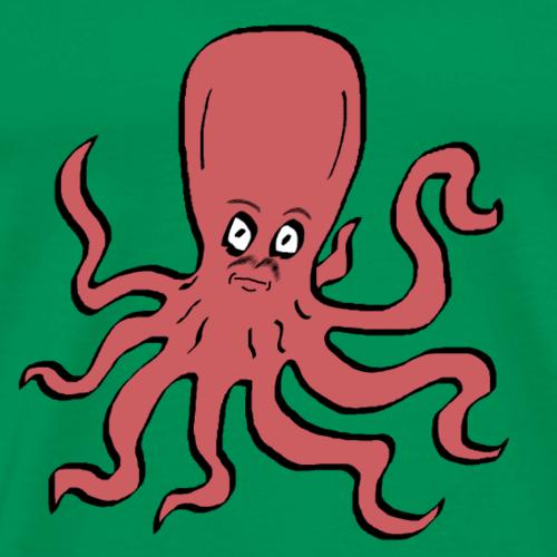 Octopus Pink - Men's Premium T-Shirt