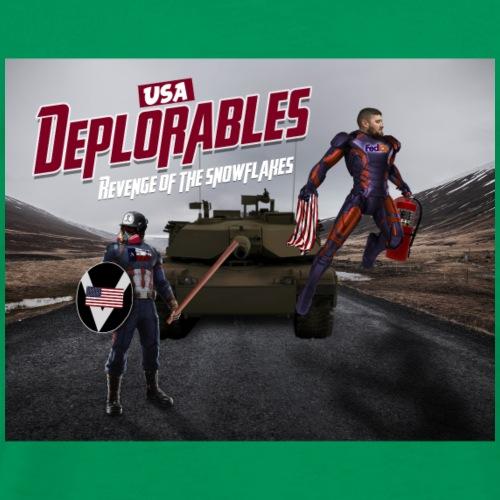 The deplorable - Men's Premium T-Shirt