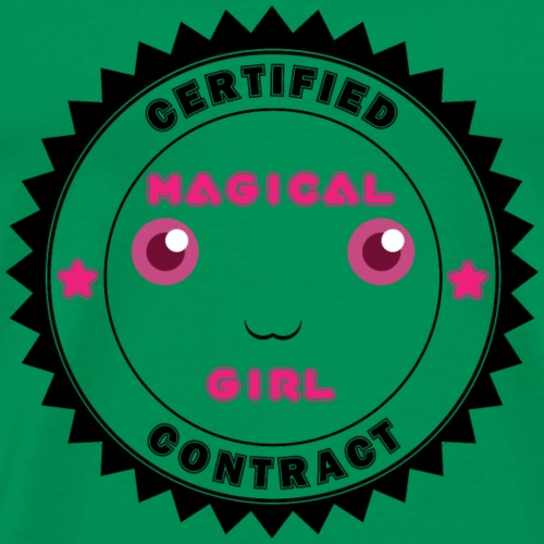 Magical Girl Certified Contract - Men's Premium T-Shirt