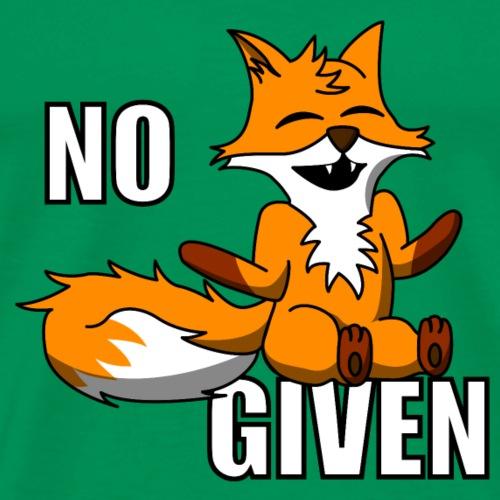 No Fox Given - Men's Premium T-Shirt