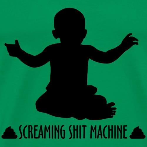 Screaming Shit Machine - Men's Premium T-Shirt