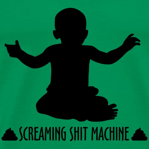 Screaming Shit Machine - Men's Premium T-Shirt