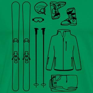 Skiequipment - Men's Premium T-Shirt