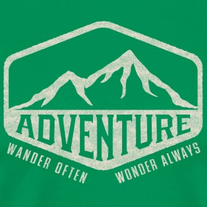 Adventure - Wander Often, Wonder Always - Men's Premium T-Shirt