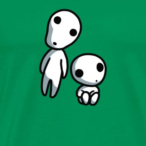 Kodama Princess Mononoke - Men's Premium T-Shirt