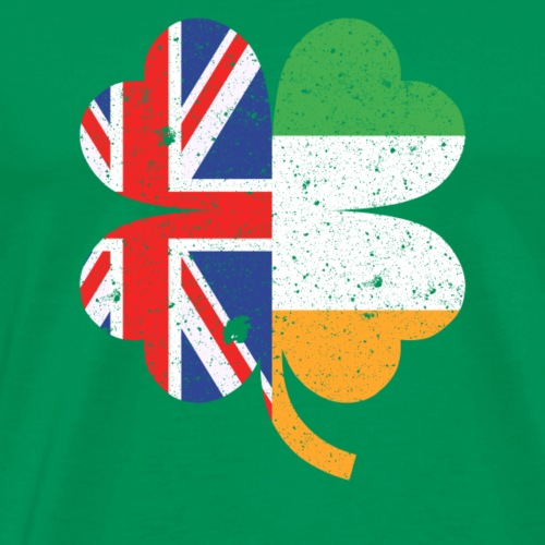 Half British Half Irish St. Patricks Day - Men's Premium T-Shirt
