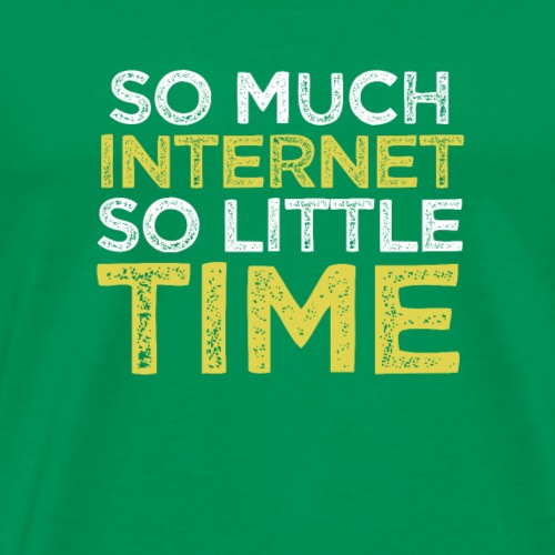 Internet Time T Shirt - Men's Premium T-Shirt