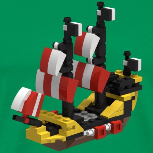 LEGO PIRATE SHIP - Men's Premium T-Shirt