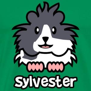 Guinea Pig Sylvester - Men's Premium T-Shirt