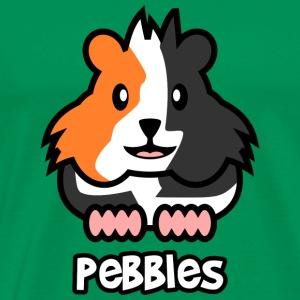 Guinea Pig Pebbles - Men's Premium T-Shirt