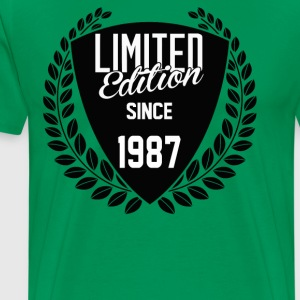 Limited Edition Since 1987 - Men's Premium T-Shirt