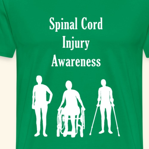 Spinal Cord Injury Awareness - Men's Premium T-Shirt