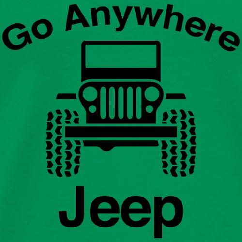 Jeep Go Anywhere - Men's Premium T-Shirt