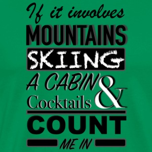 COUNT ME IN - Men's Premium T-Shirt