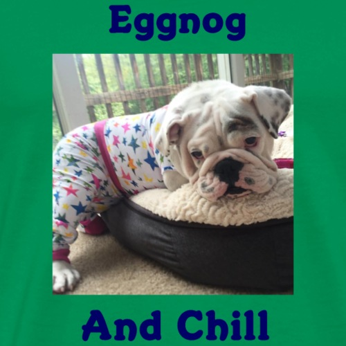 Eggnog Chill - Men's Premium T-Shirt