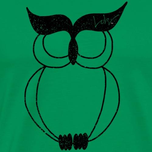 Loki Wisdom Owl - Men's Premium T-Shirt