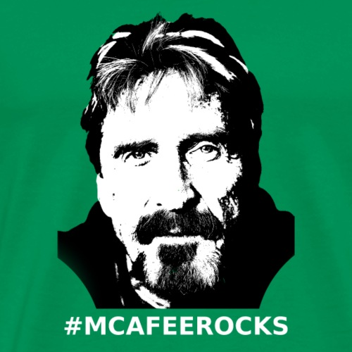 McAfee Rocks - Men's Premium T-Shirt